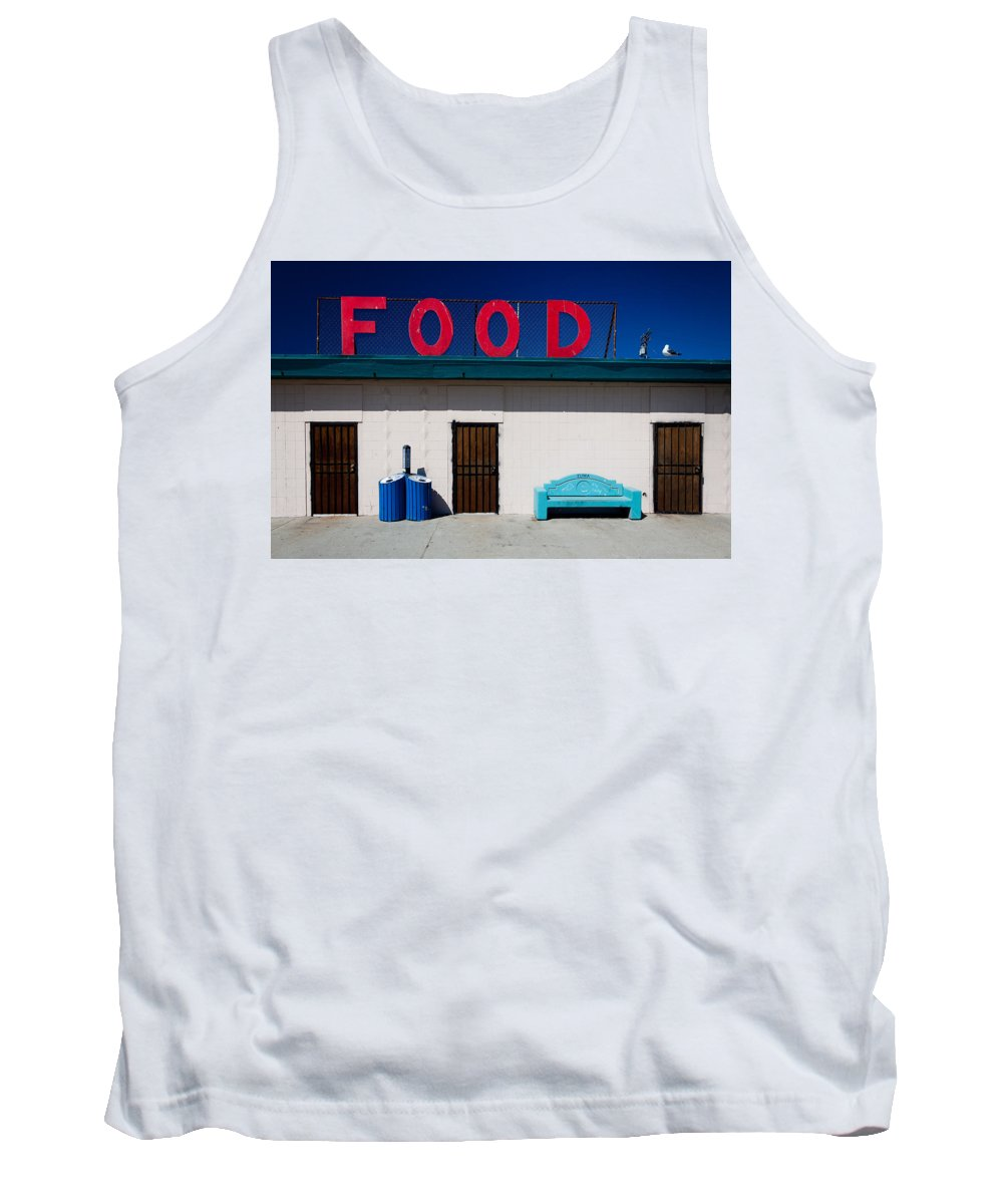 Food Tank Top featuring the photograph Food by Andy Linden
