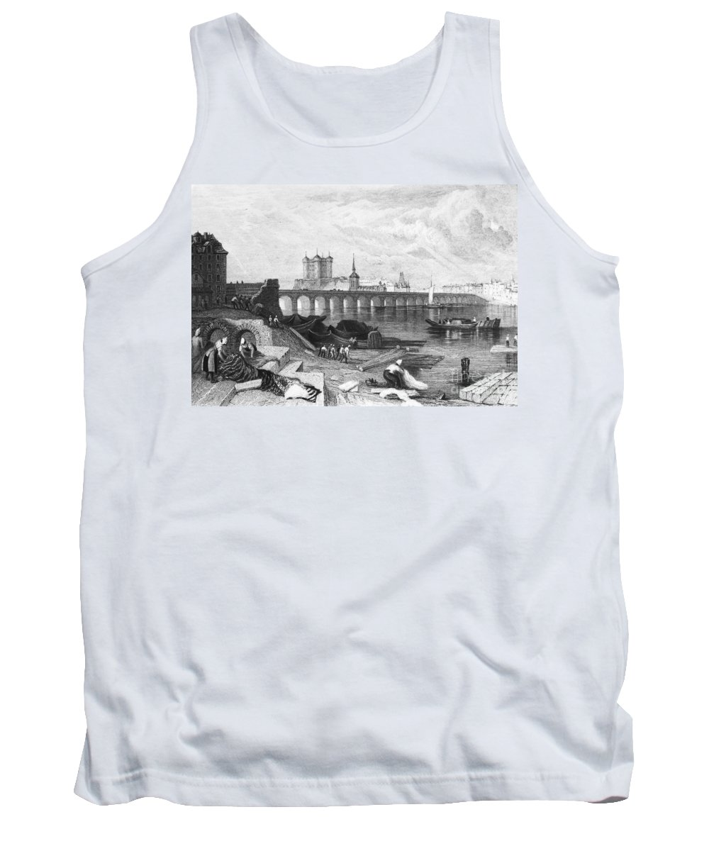 1835 Tank Top featuring the photograph France: Saumur by Granger