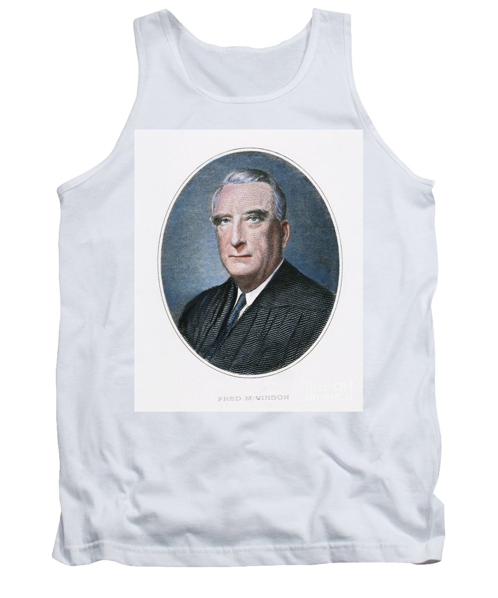 20th Century Tank Top featuring the photograph Frederick Vinson (1890-1953) by Granger