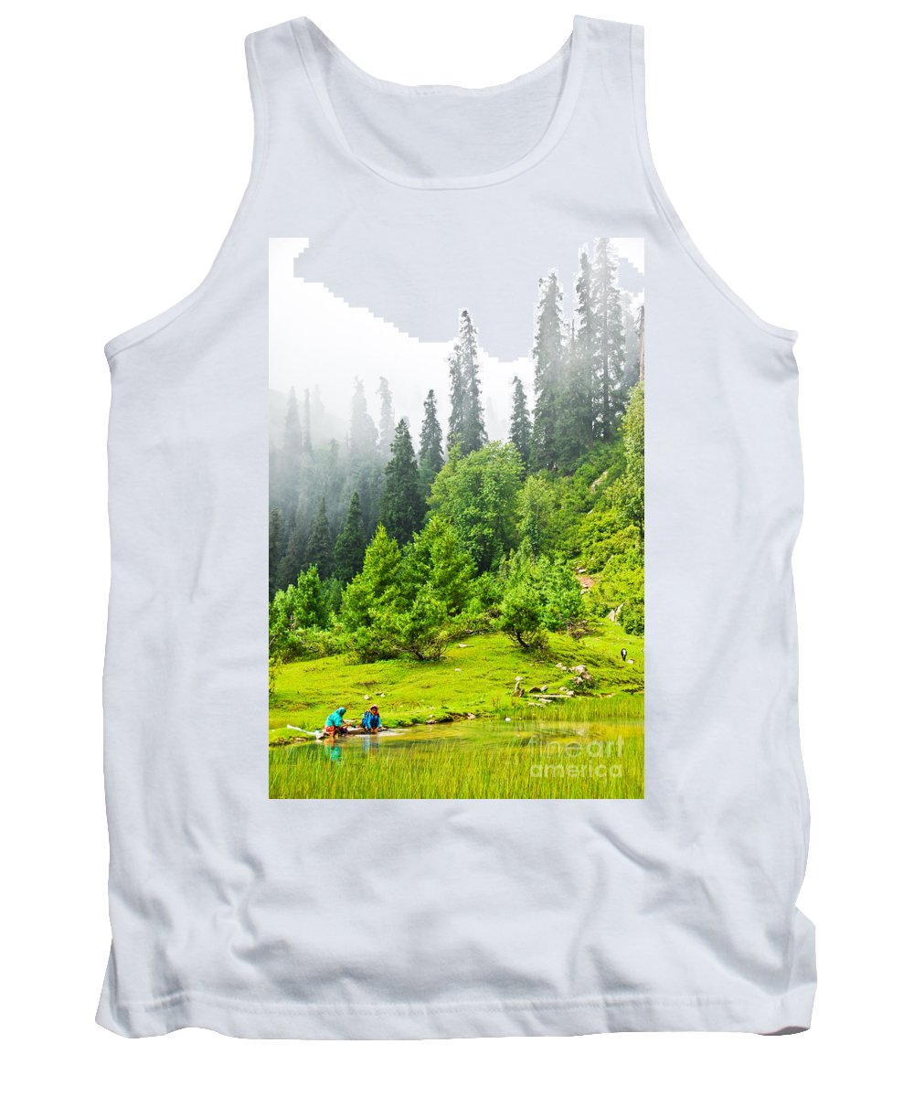 Friends Tank Top featuring the photograph Friends Together by Syed Aqueel