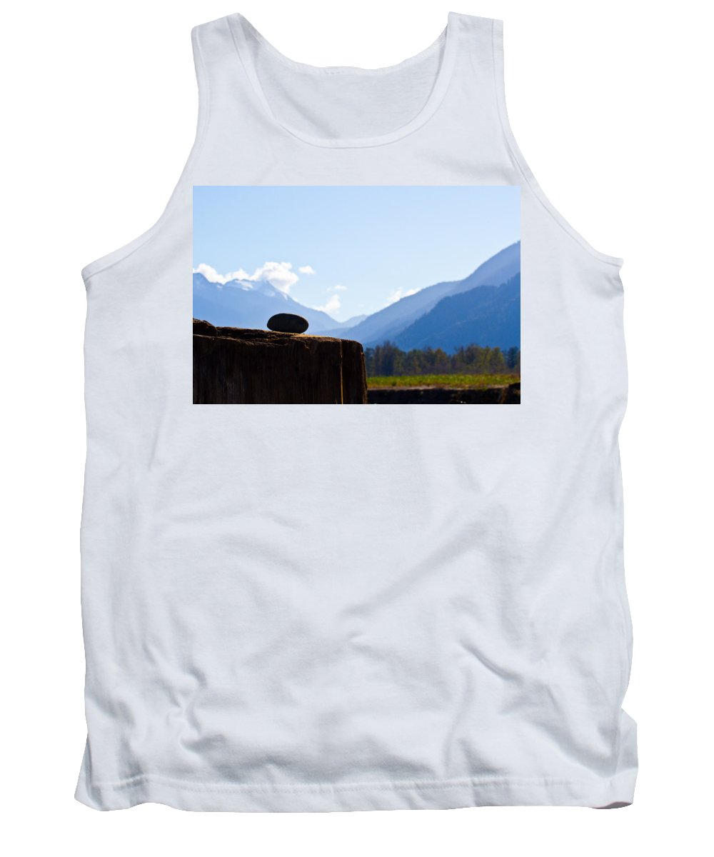 Mountain View Tank Top featuring the photograph From Any View by Marie Jamieson