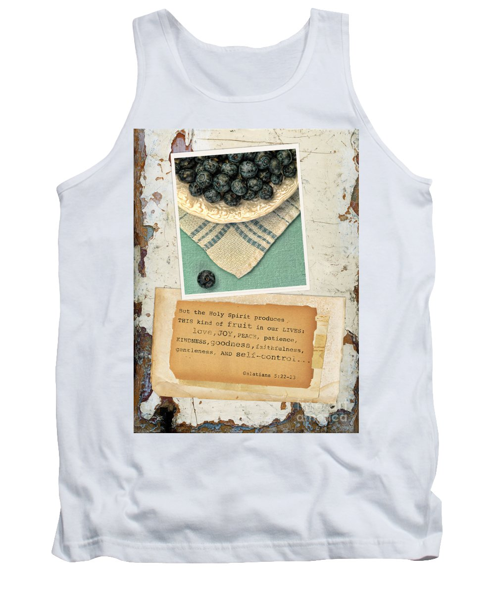 Weathered Tank Top featuring the photograph Fruit Of The Spirit by Jill Battaglia