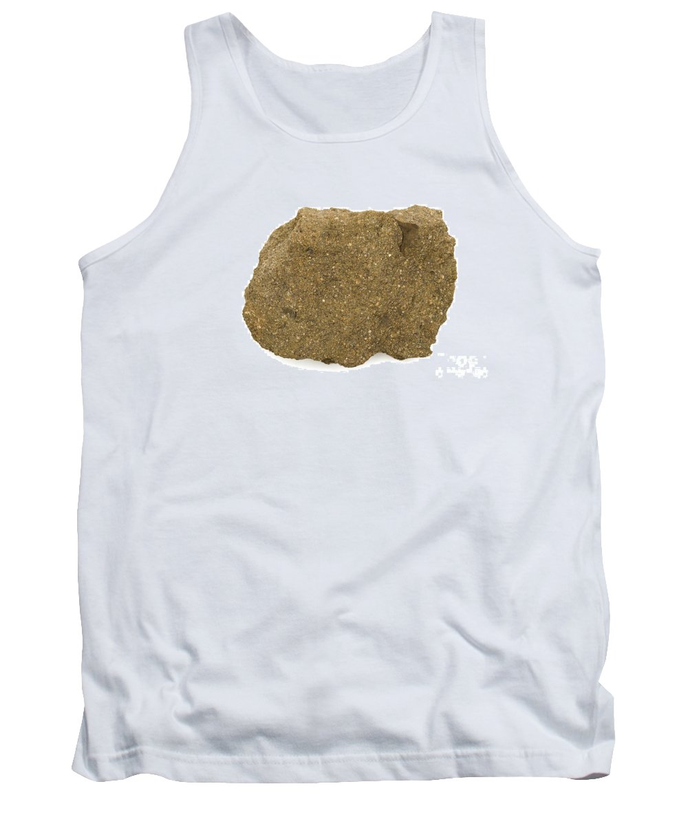 Geology Tank Top featuring the photograph Glauconite Sandstone by Ted Kinsman