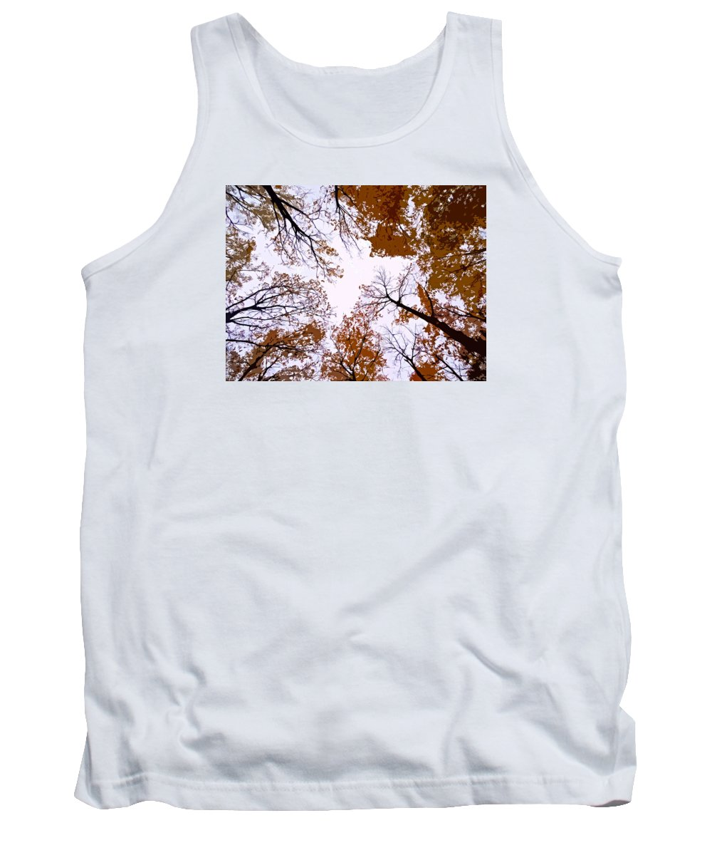 North America Tank Top featuring the photograph Golden September ... by Juergen Weiss