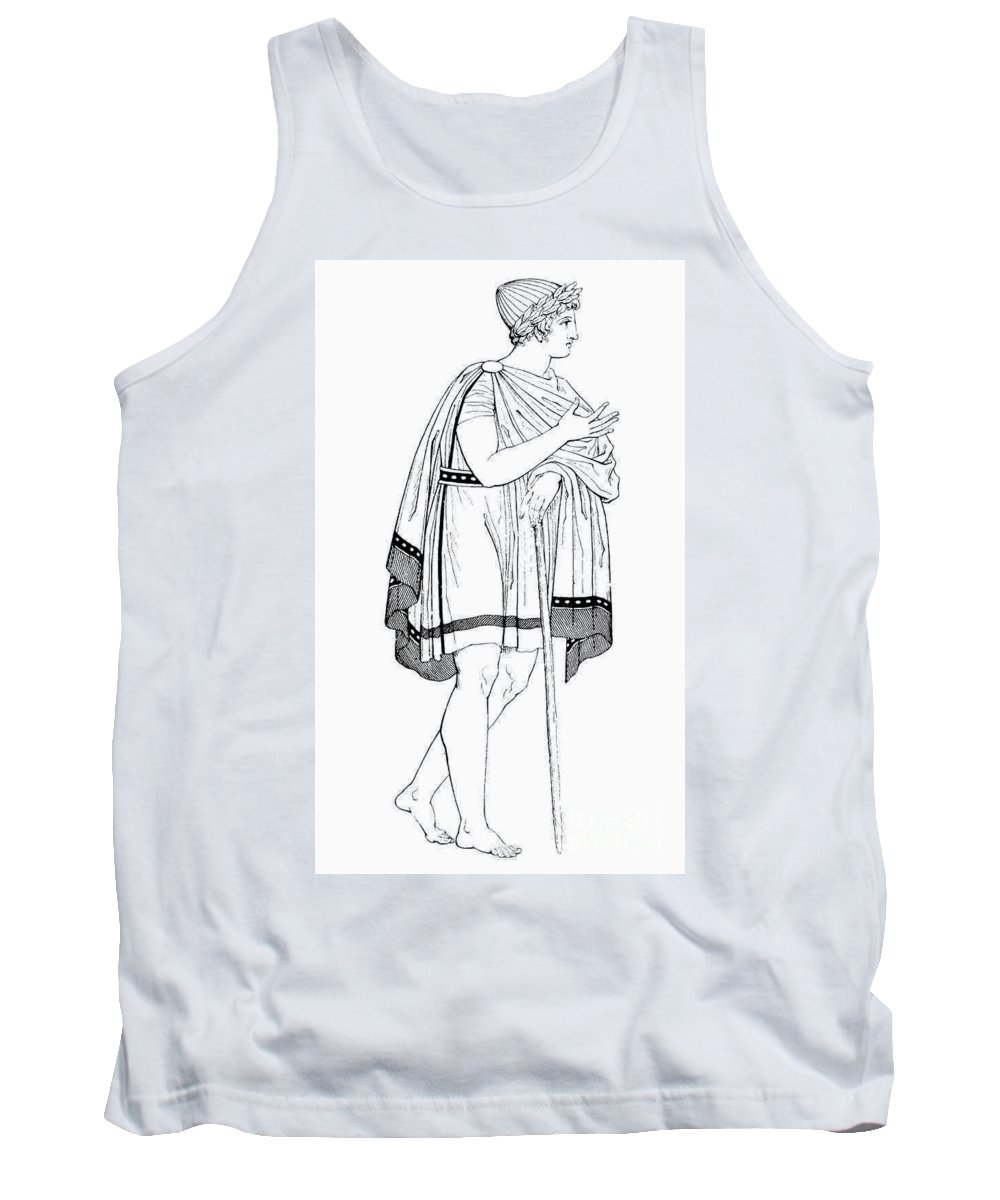 Ancient Tank Top featuring the photograph Greece: Young Athlete by Granger