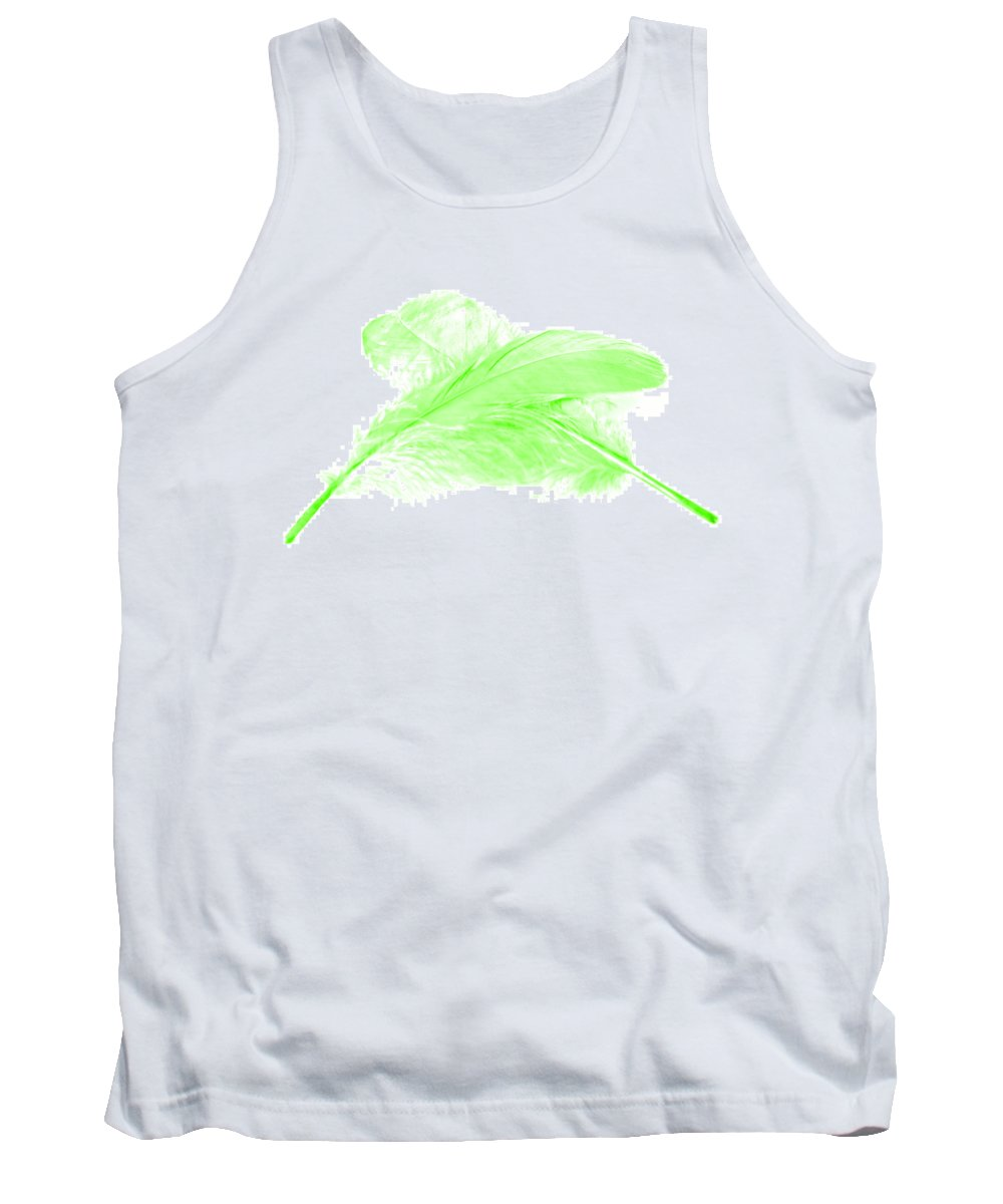 Green Goose Tank Top featuring the photograph Green Ghost by Steve Purnell