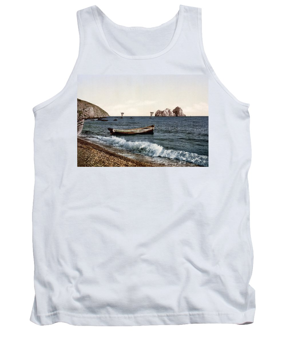 Crimea Tank Top featuring the photograph Gursuff - Crimea - Ukraine by Bode Stevenson