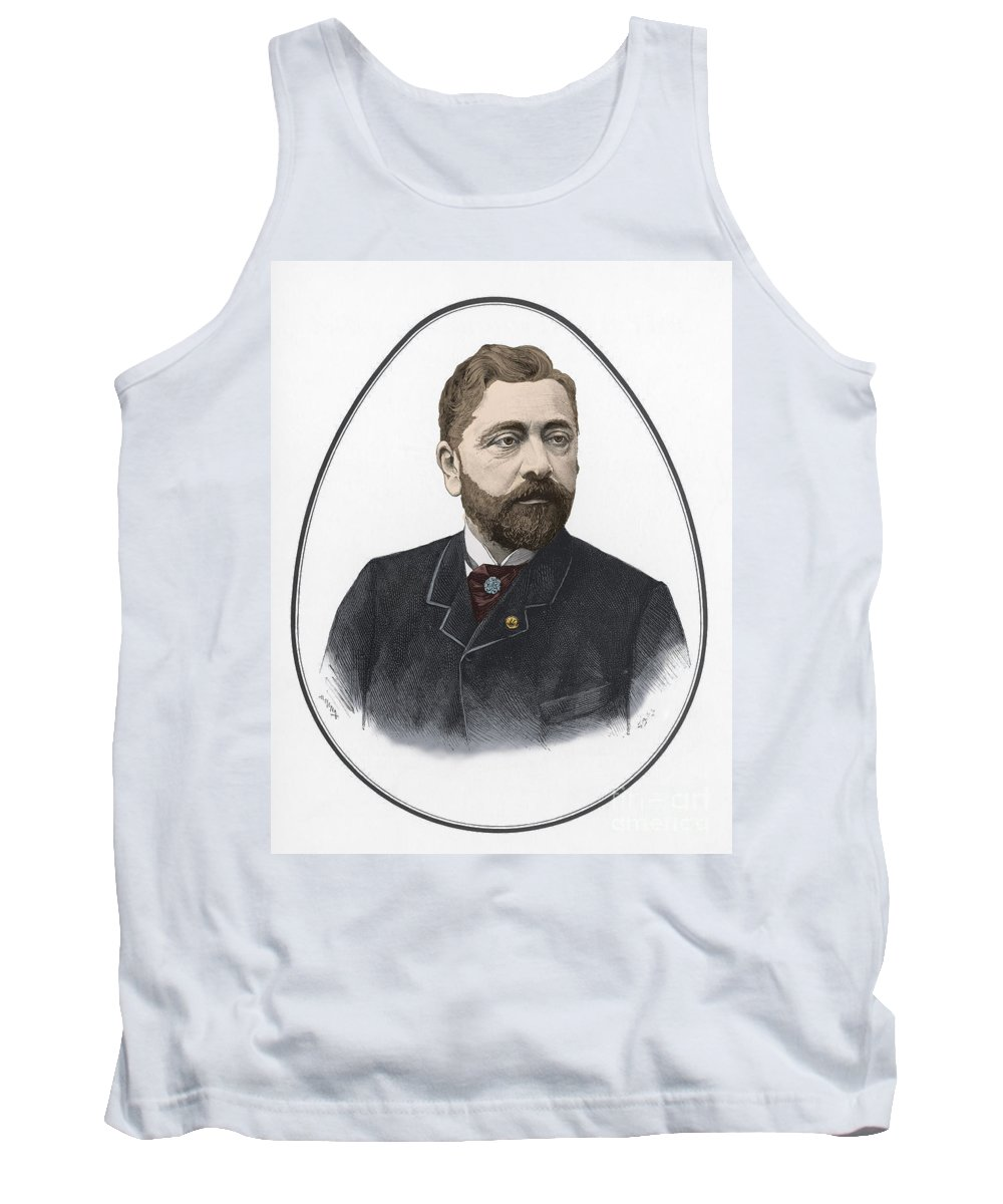 History Tank Top featuring the photograph Gustave Eiffel, French Architect by Science Source