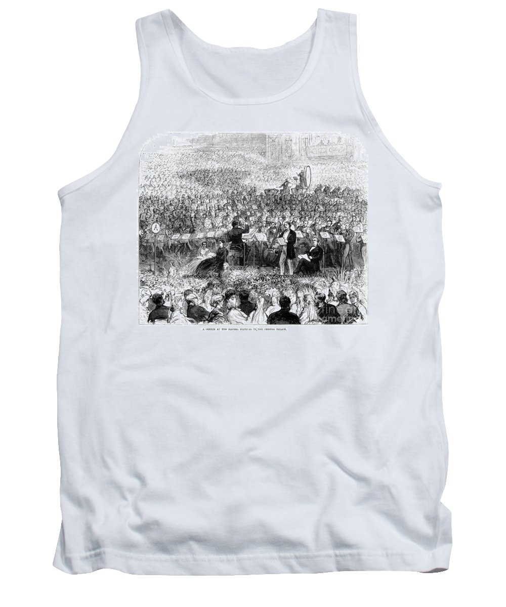 1865 Tank Top featuring the photograph Handel: Messiah by Granger