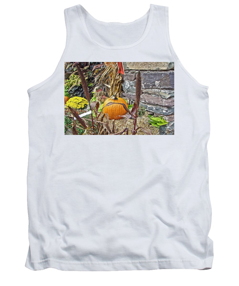 Autumn Tank Top featuring the photograph Harvest Time by Mother Nature