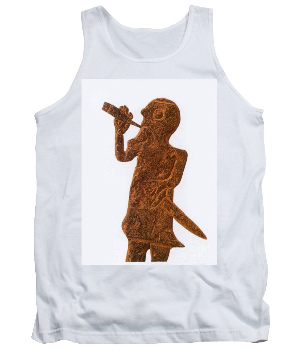 History Tank Top featuring the photograph Heimdall, Norse God by Photo Researchers
