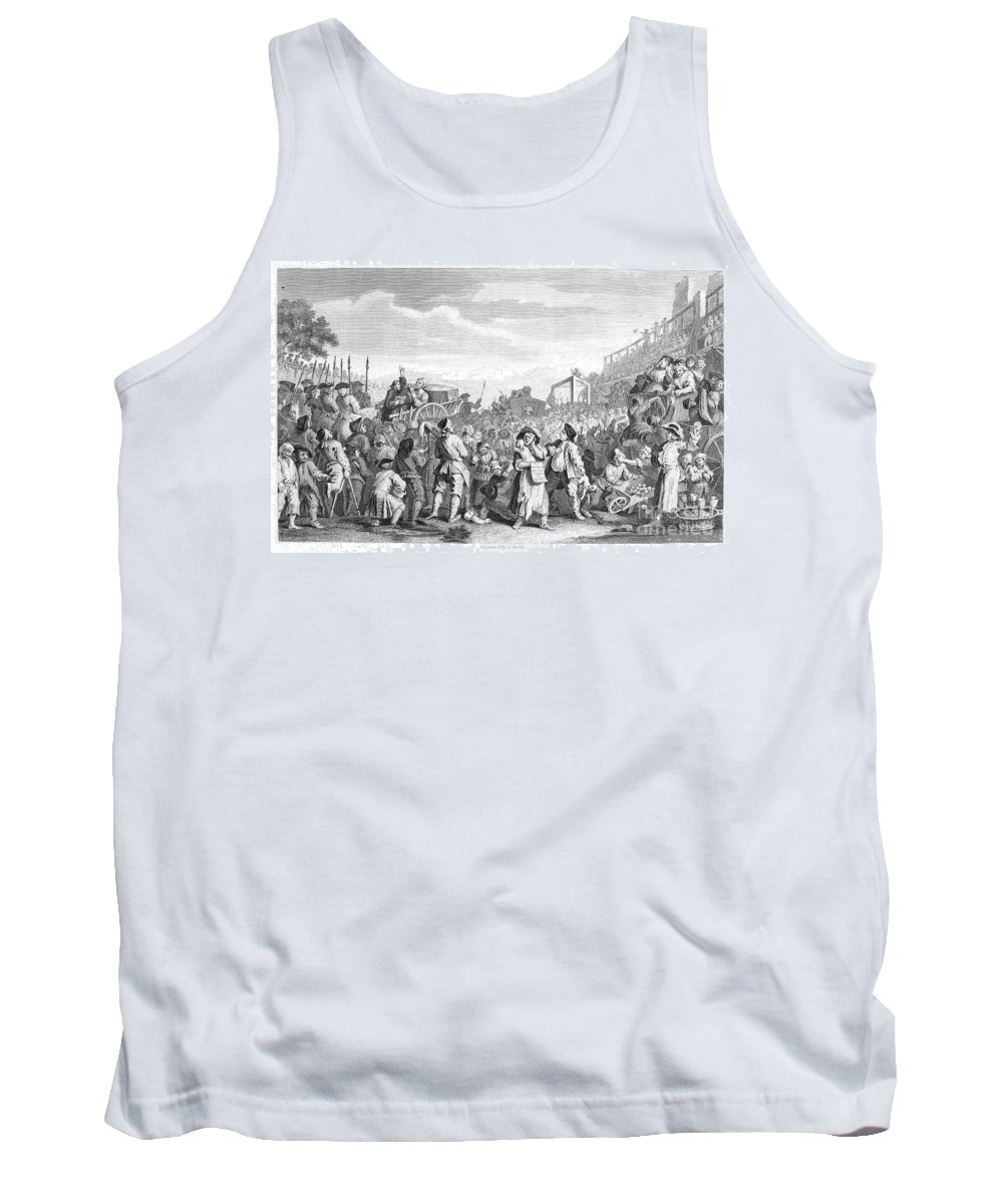 1751 Tank Top featuring the photograph Hogarth: Industry, 1751 by Granger