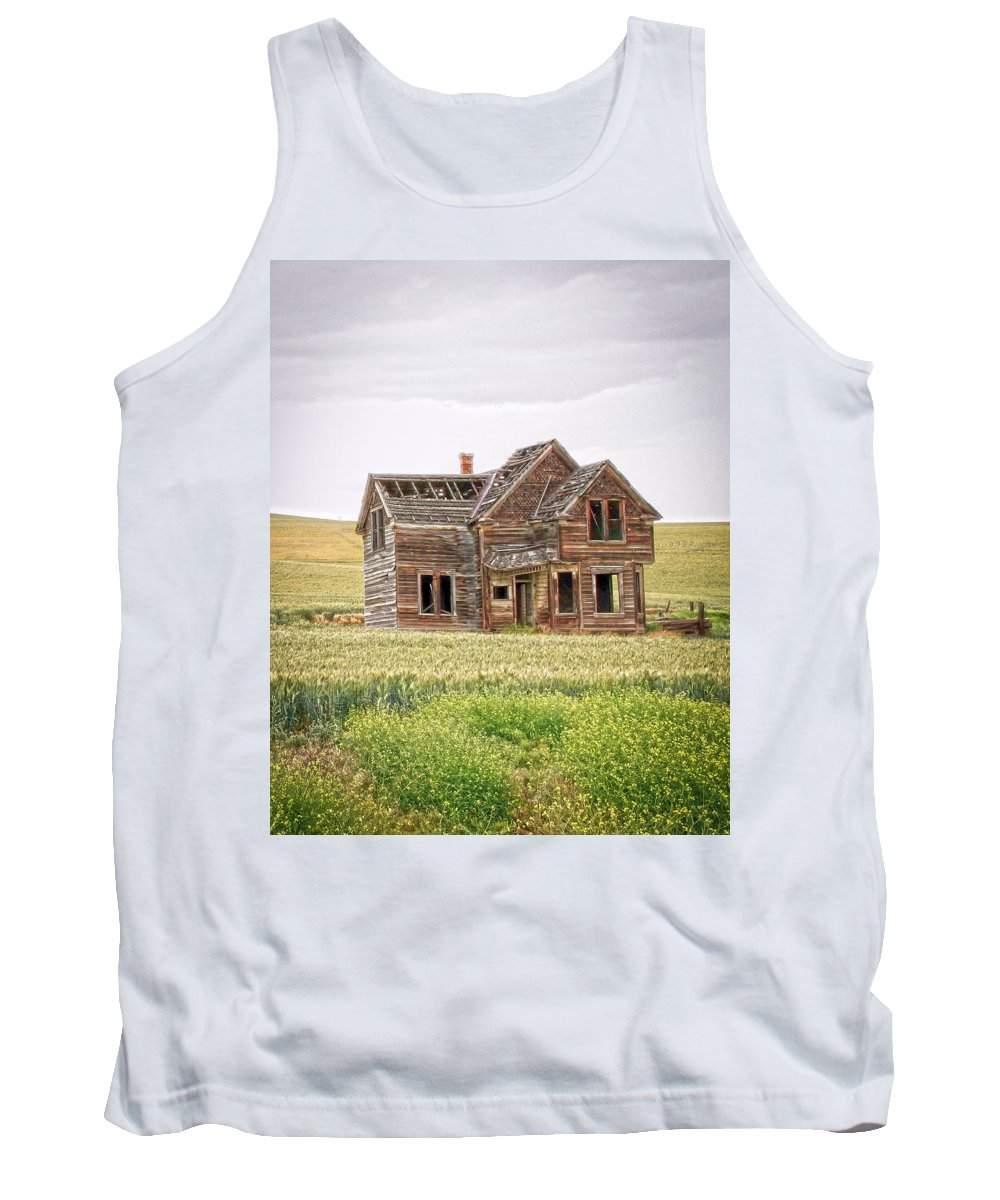 Home Tank Top featuring the photograph House by Steve McKinzie