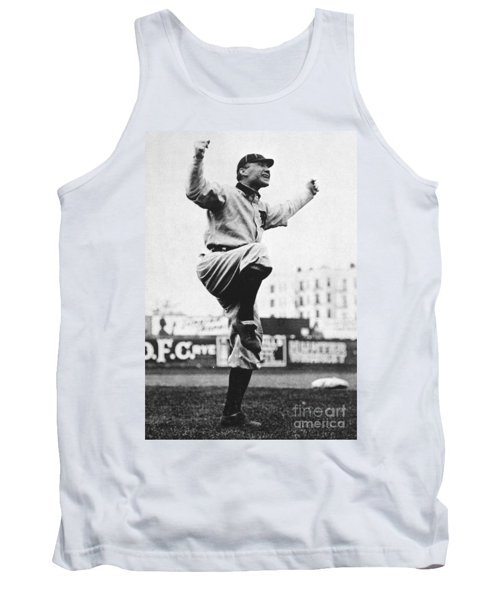 20th Century Tank Top featuring the photograph Hughie Jennings (1869-1928) by Granger