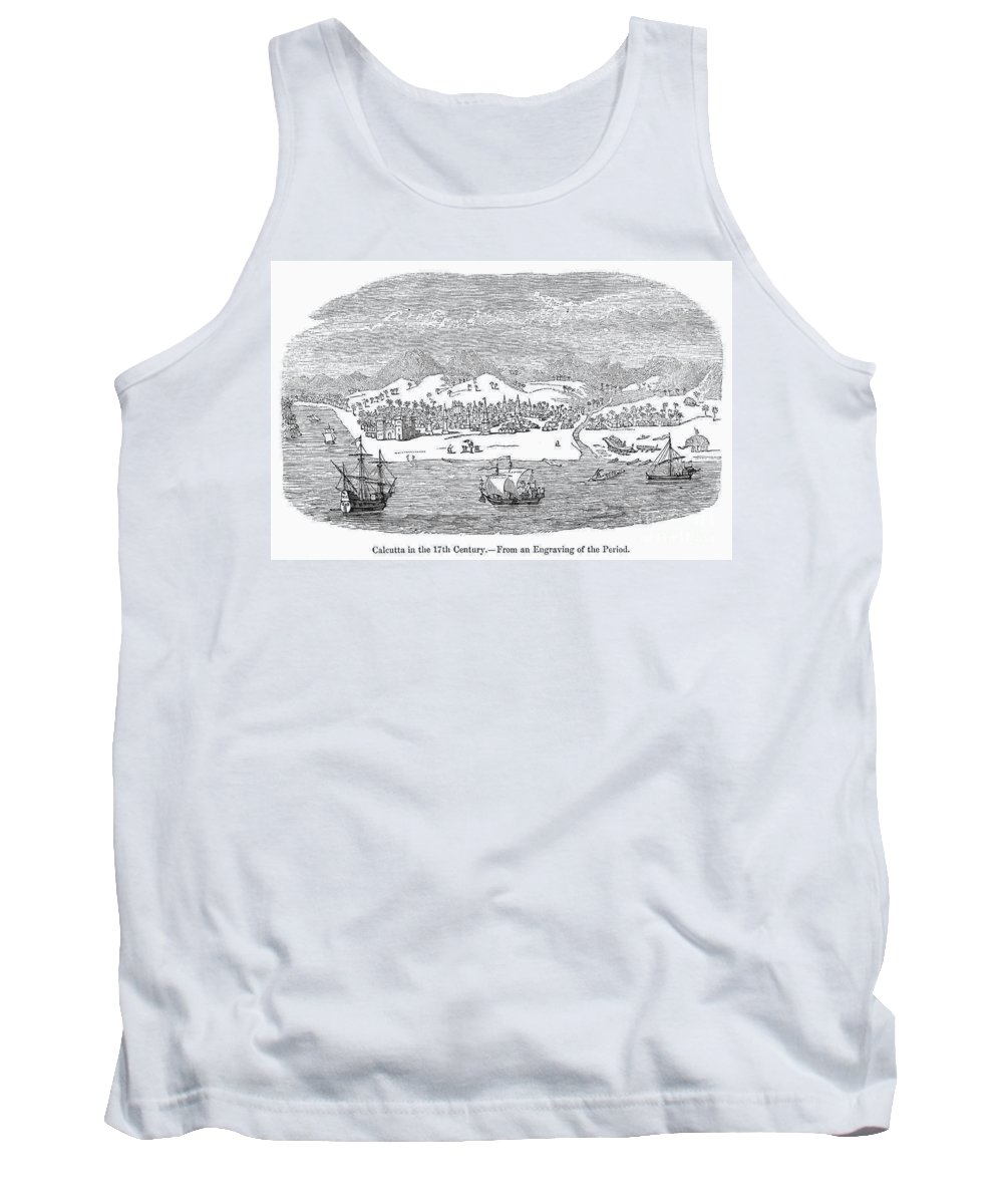 Asian Tank Top featuring the photograph India: Calcutta by Granger