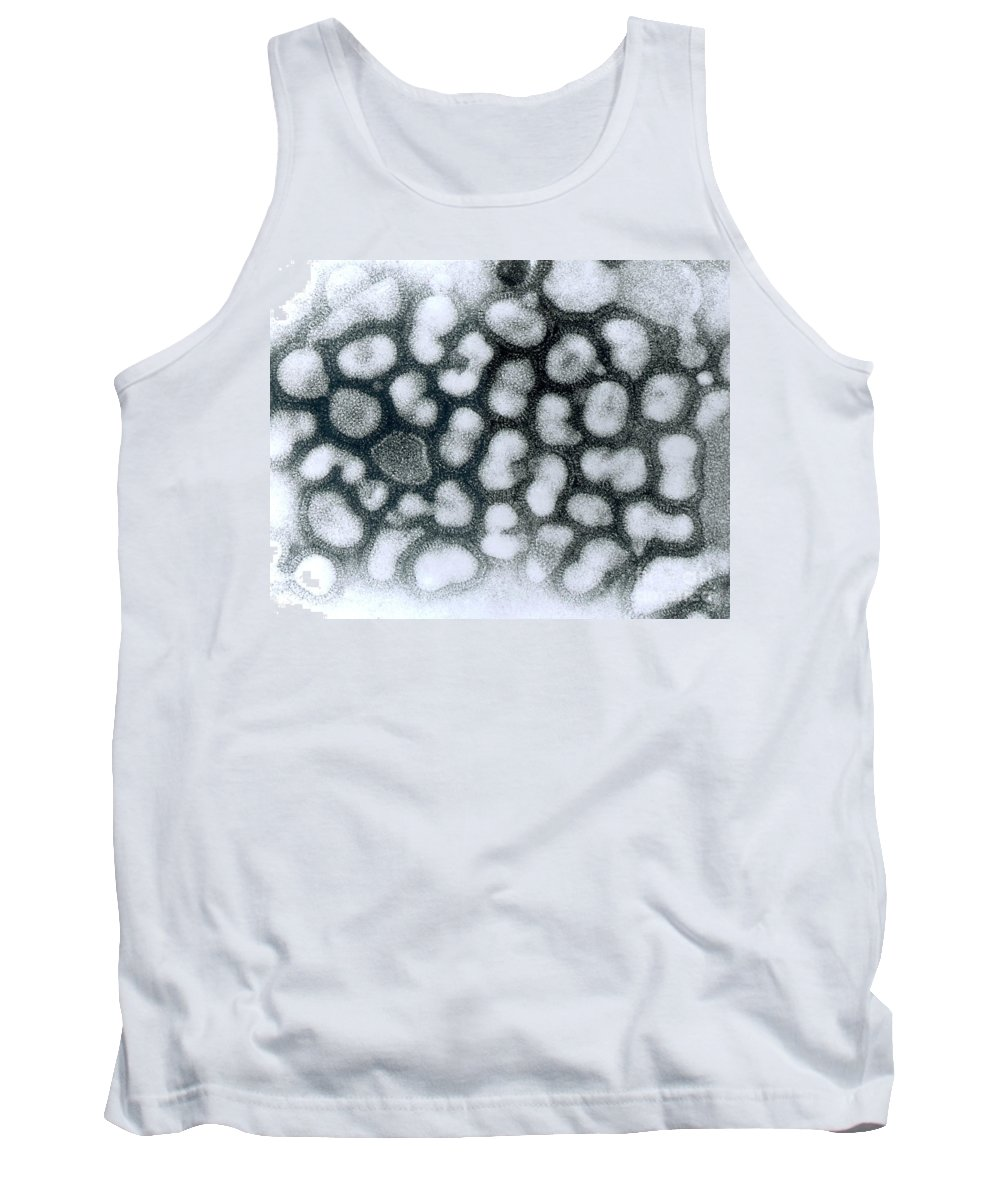 All Use Tank Top featuring the photograph Influenza Virus, Tem by Science Source