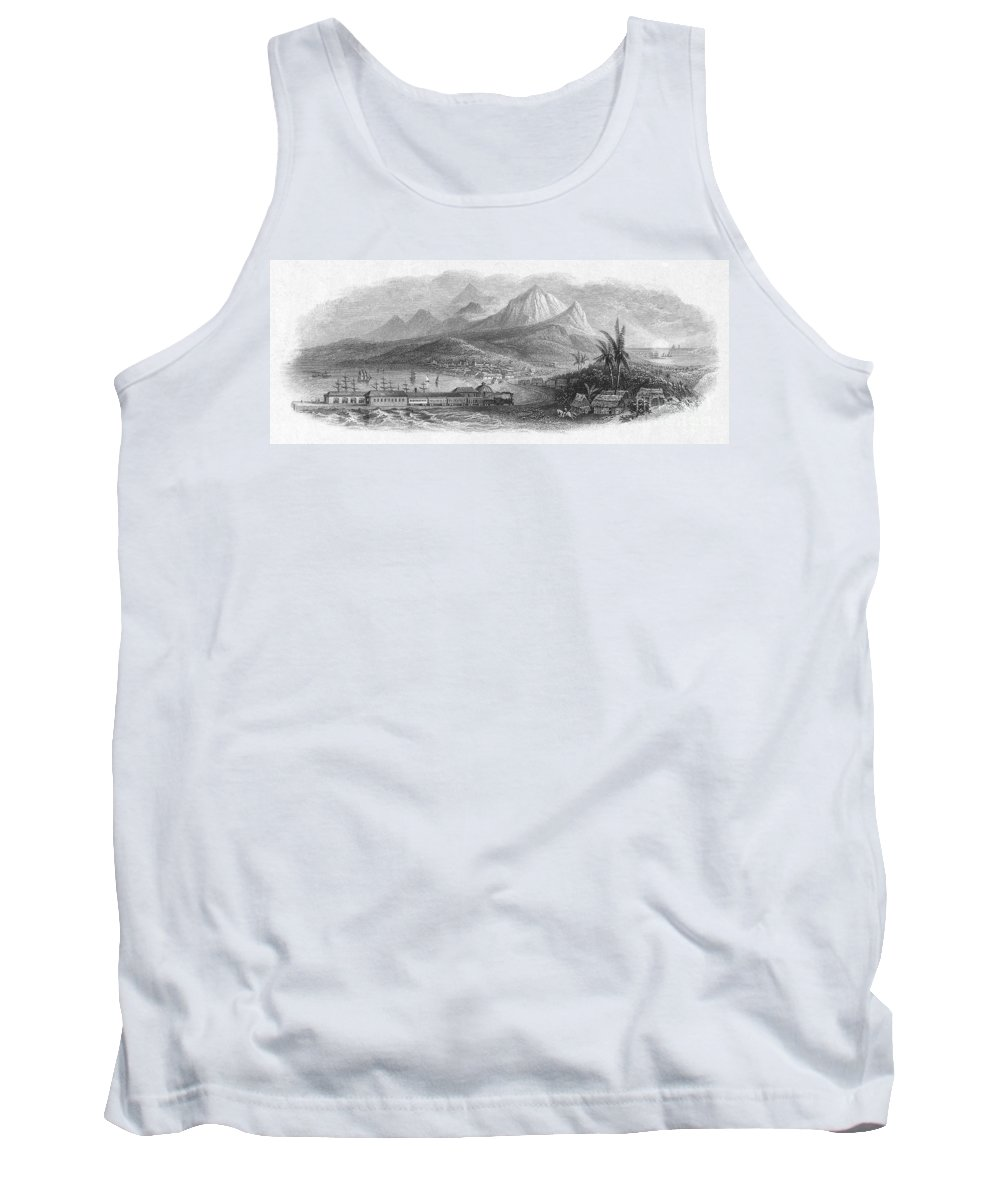 19th Century Tank Top featuring the photograph Inter-oceanic Railroad by Granger