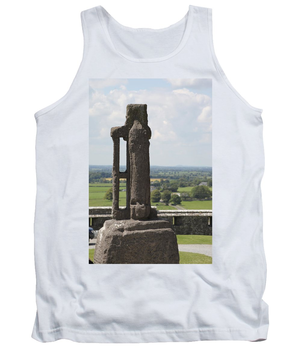Rock Of Cashel Tank Top featuring the photograph Ireland 0008 by Carol Ann Thomas