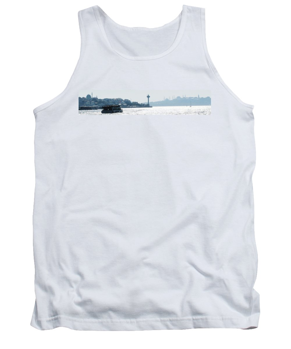 Istanbul Tank Top featuring the photograph Istanbul Afternoon by Ian MacDonald
