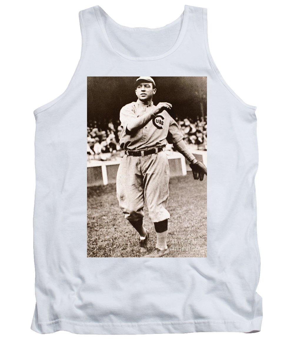 20th Century Tank Top featuring the photograph Joe Tinker (1880-1948) by Granger