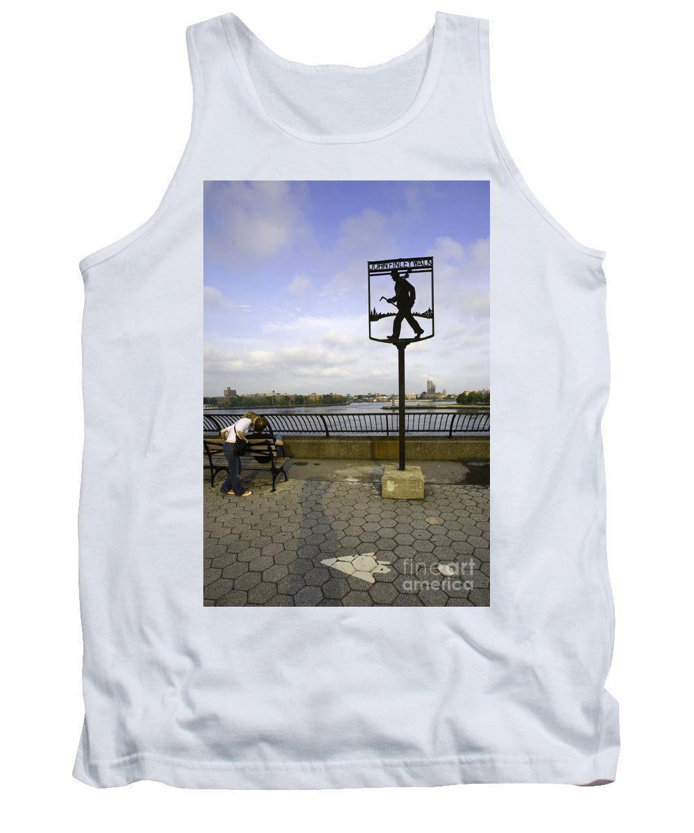 John Finley Walk Tank Top featuring the photograph John Finley Walk 1v by Madeline Ellis