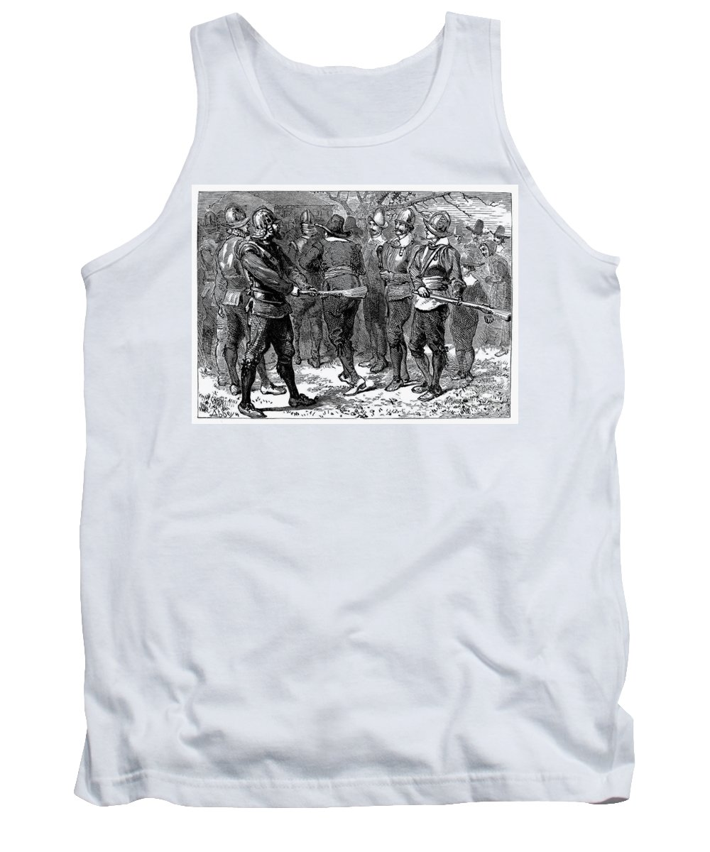 1623 Tank Top featuring the photograph John Oldham (d. 1636) by Granger