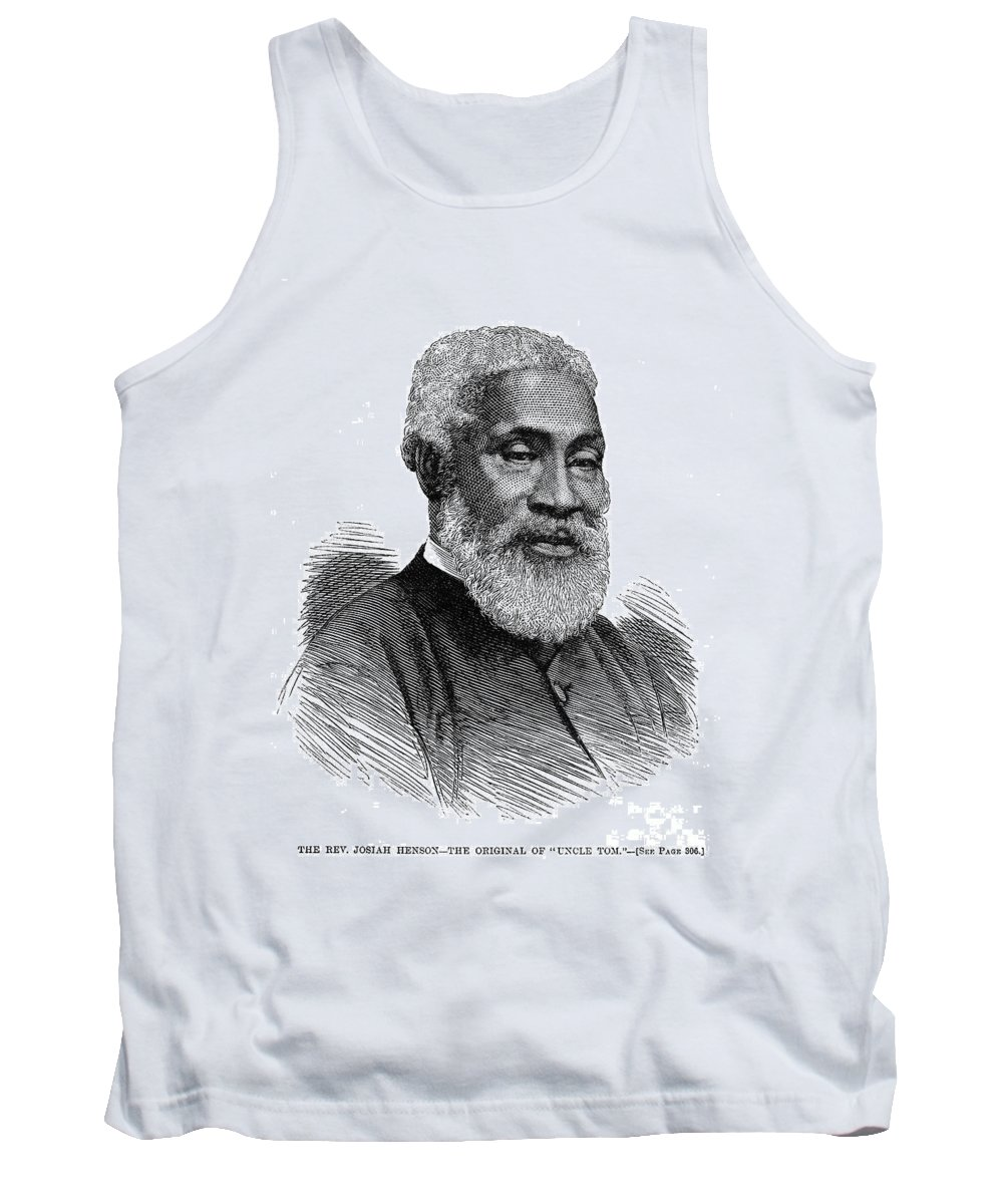 1877 Tank Top featuring the photograph Josiah Henson (1789-1883) by Granger