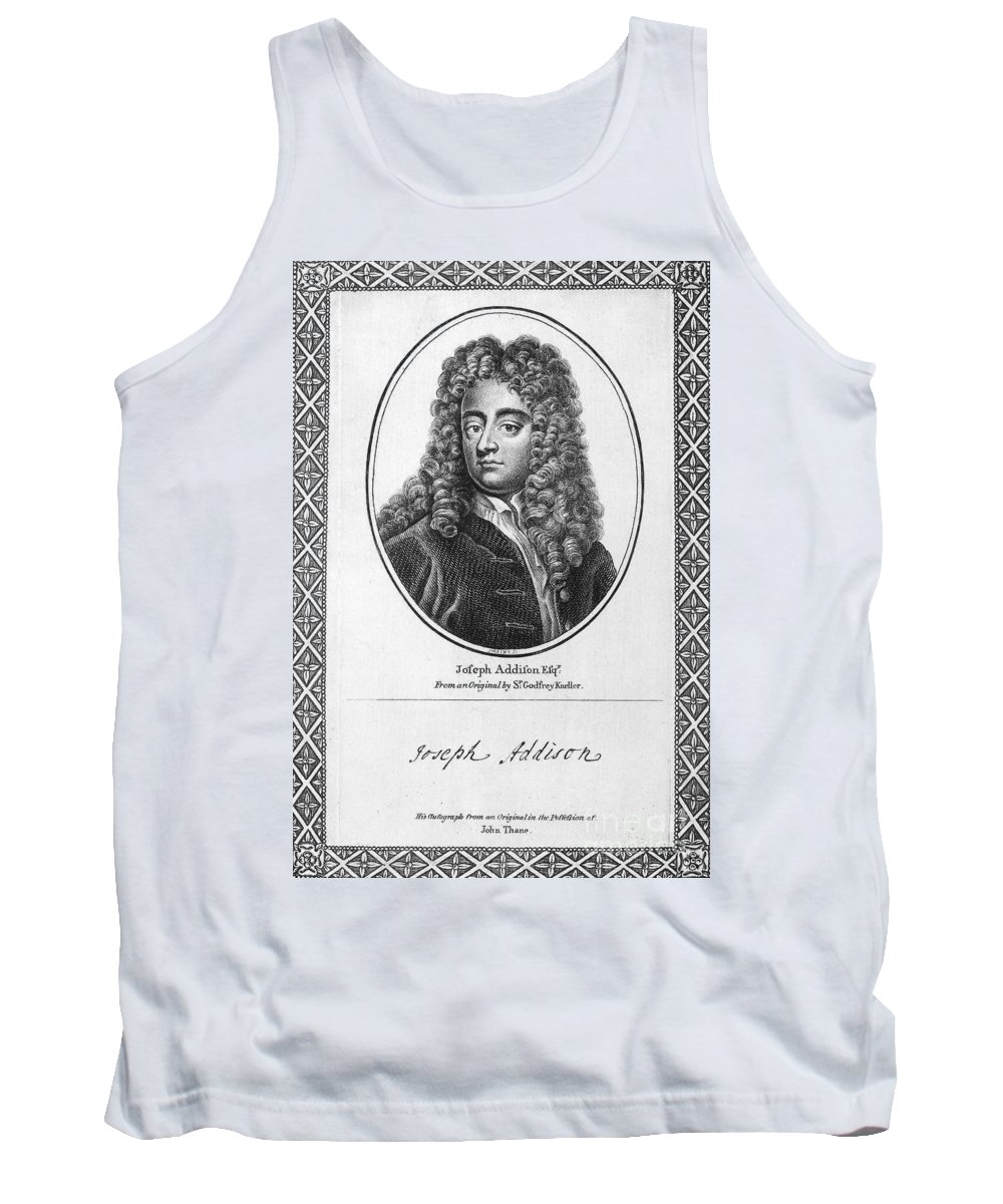 18th Century Tank Top featuring the photograph Jospeh Addison (1672-1719) by Granger