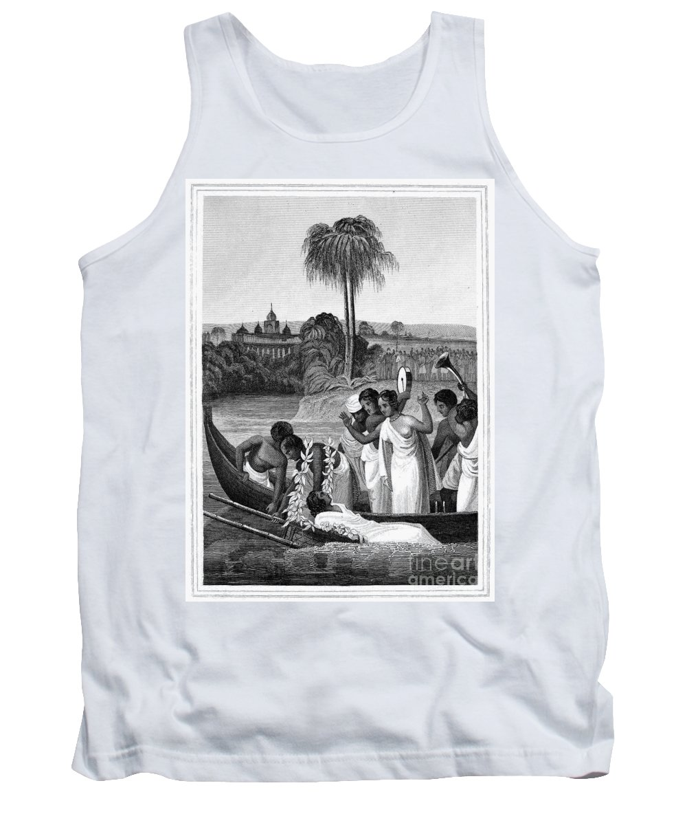 1837 Tank Top featuring the photograph Leper, 1837 by Granger