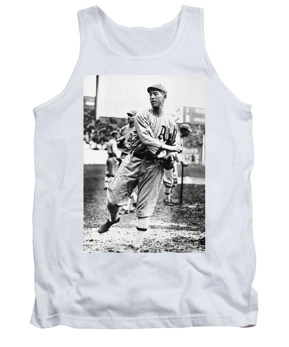 1910s Tank Top featuring the photograph Leslie Bush (1892-1974) by Granger