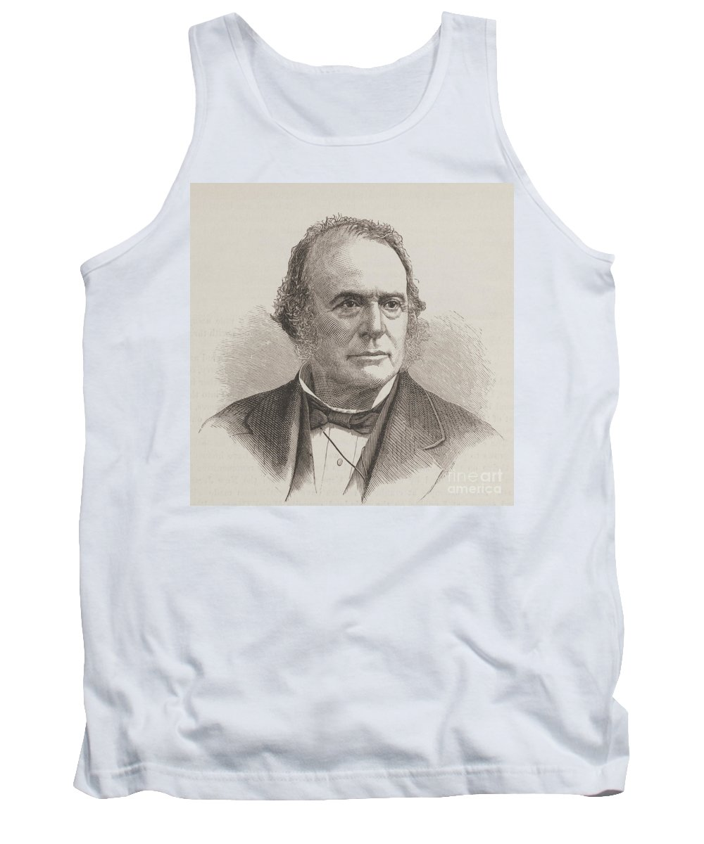 Science Tank Top featuring the photograph Louis Agassiz, Swiss-american Polymath by Science Source