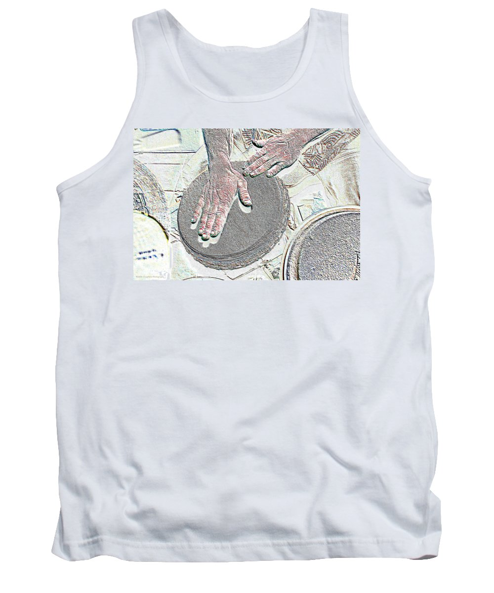 Hands Tank Top featuring the photograph Magic Hands by Michael Merry