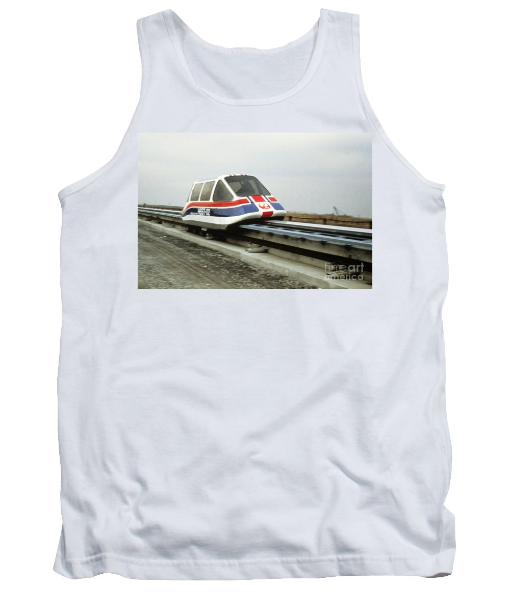 Japan Tank Top featuring the photograph Magnetic Levitation Train by Japan Airlines