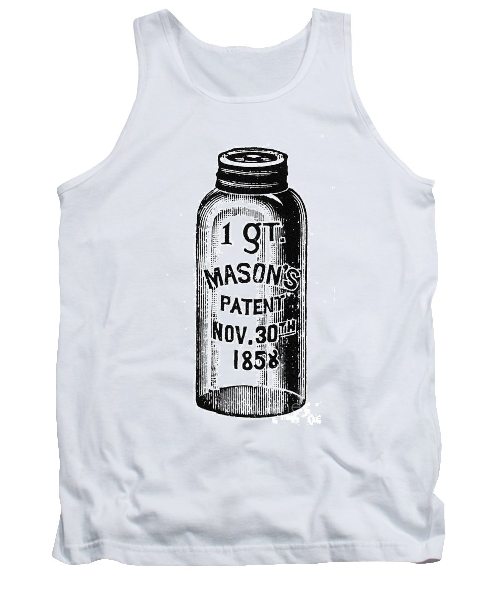 19th Century Tank Top featuring the photograph Mason Jar by Granger