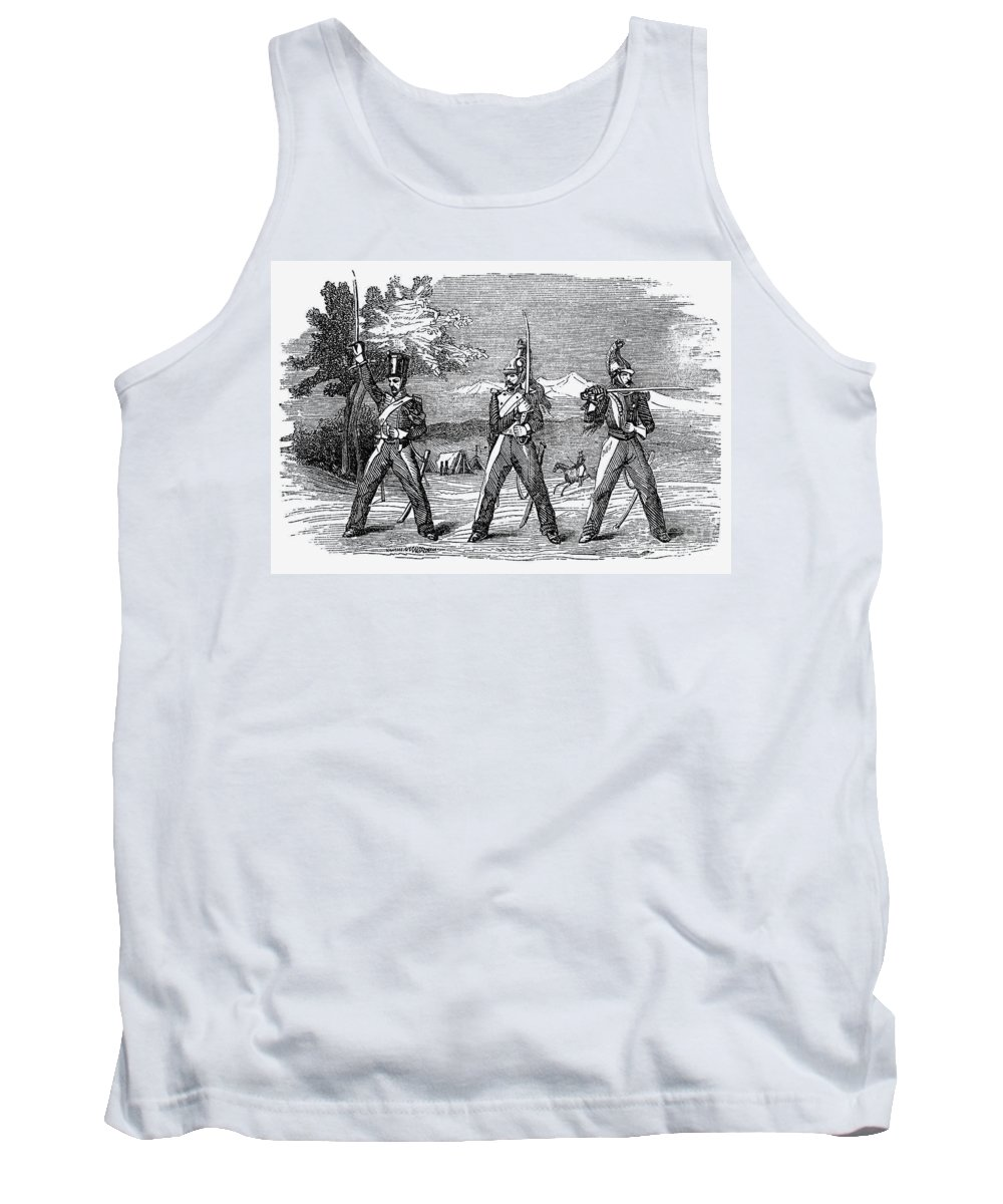1846 Tank Top featuring the photograph Mexican American War, 1846 by Granger
