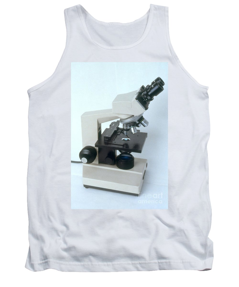 Microscope Tank Top featuring the photograph Microscope by Science Source