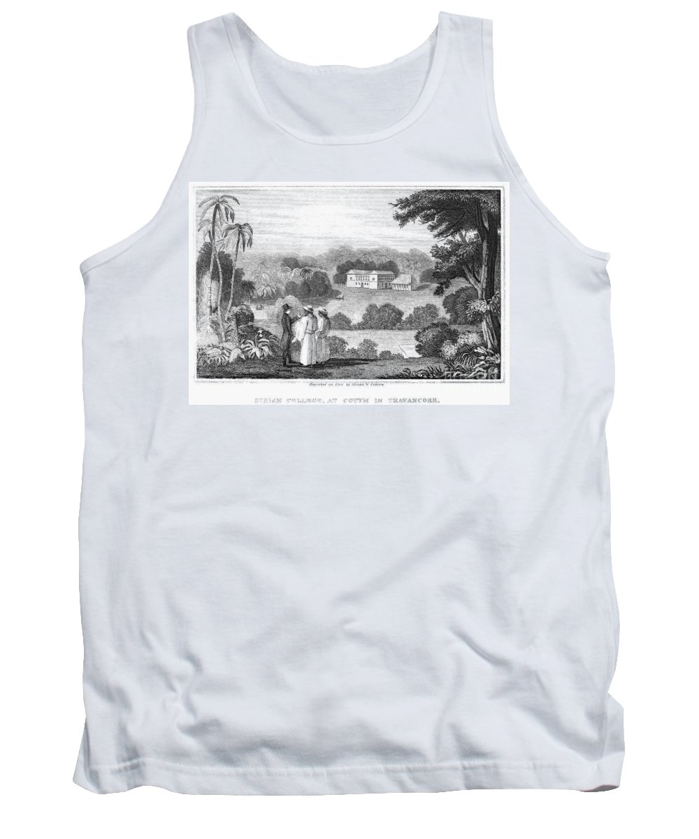 1837 Tank Top featuring the photograph Missionary College, 1837 by Granger