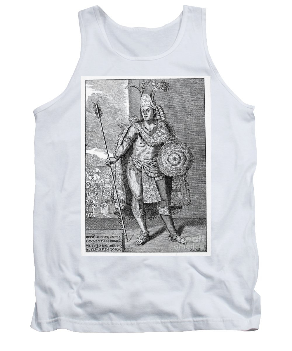 15th Century Tank Top featuring the photograph Montezuma II (c1480-1520) by Granger