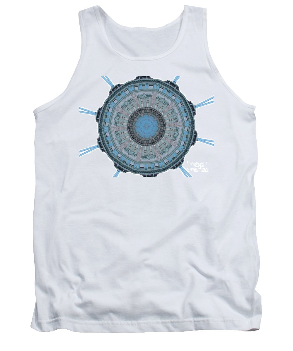 Digital Design Tank Top featuring the photograph Music House by Mark Gilman