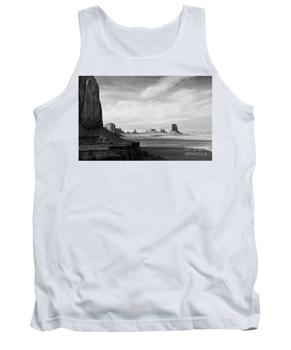 Serene Tank Top featuring the photograph Nature's Sculptures by Jim Chamberlain