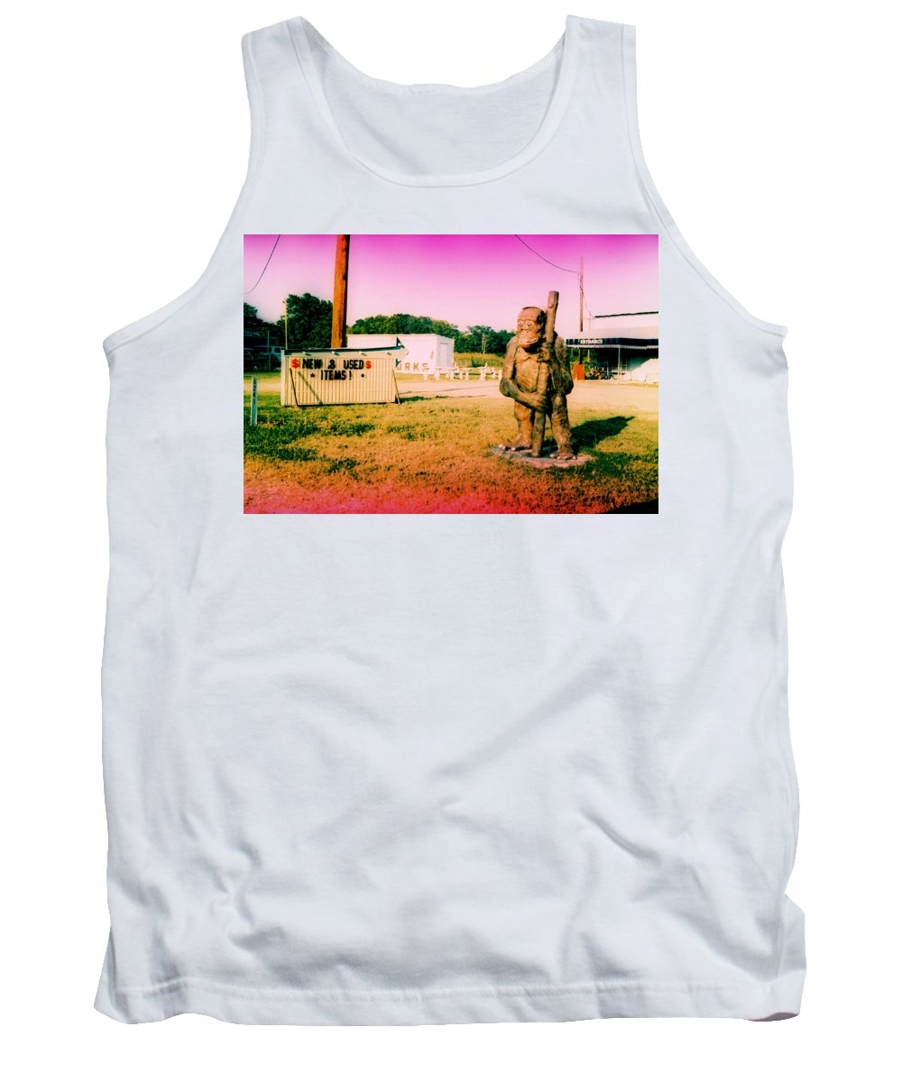 Louisiana Tank Top featuring the photograph New And Used Items by Doug Duffey