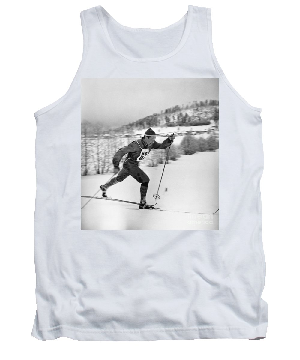 1960 Tank Top featuring the photograph Nikolay Petrovich Anikin (b. 1932) by Granger