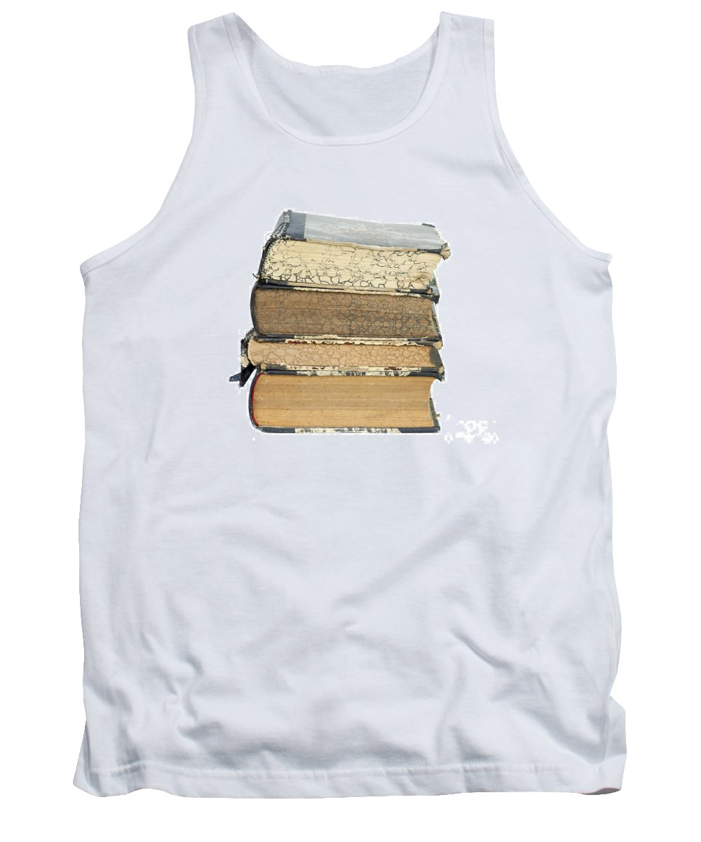 Book Tank Top featuring the photograph Old Books by Michal Boubin