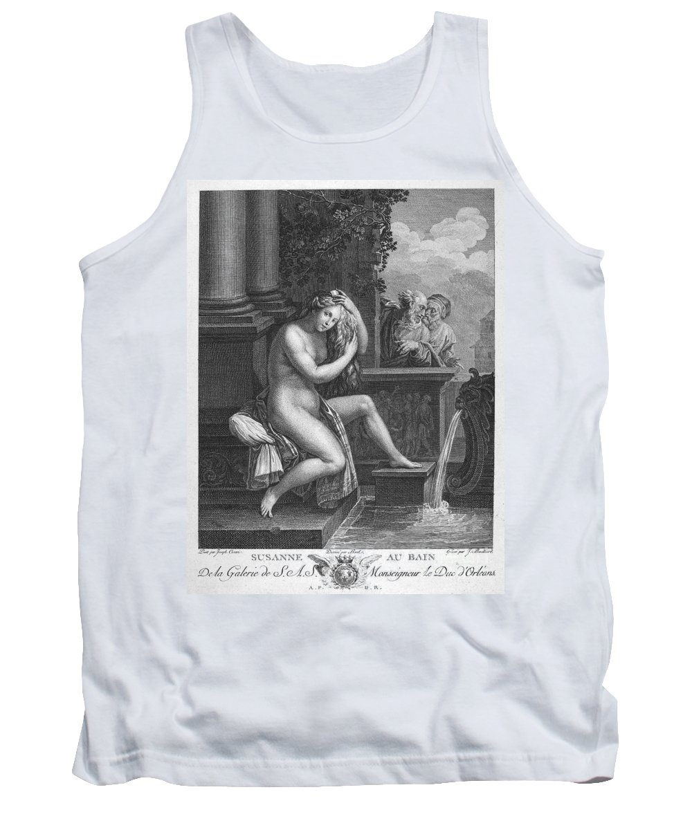 18th Century Tank Top featuring the photograph Old Testament: Shoshanna by Granger