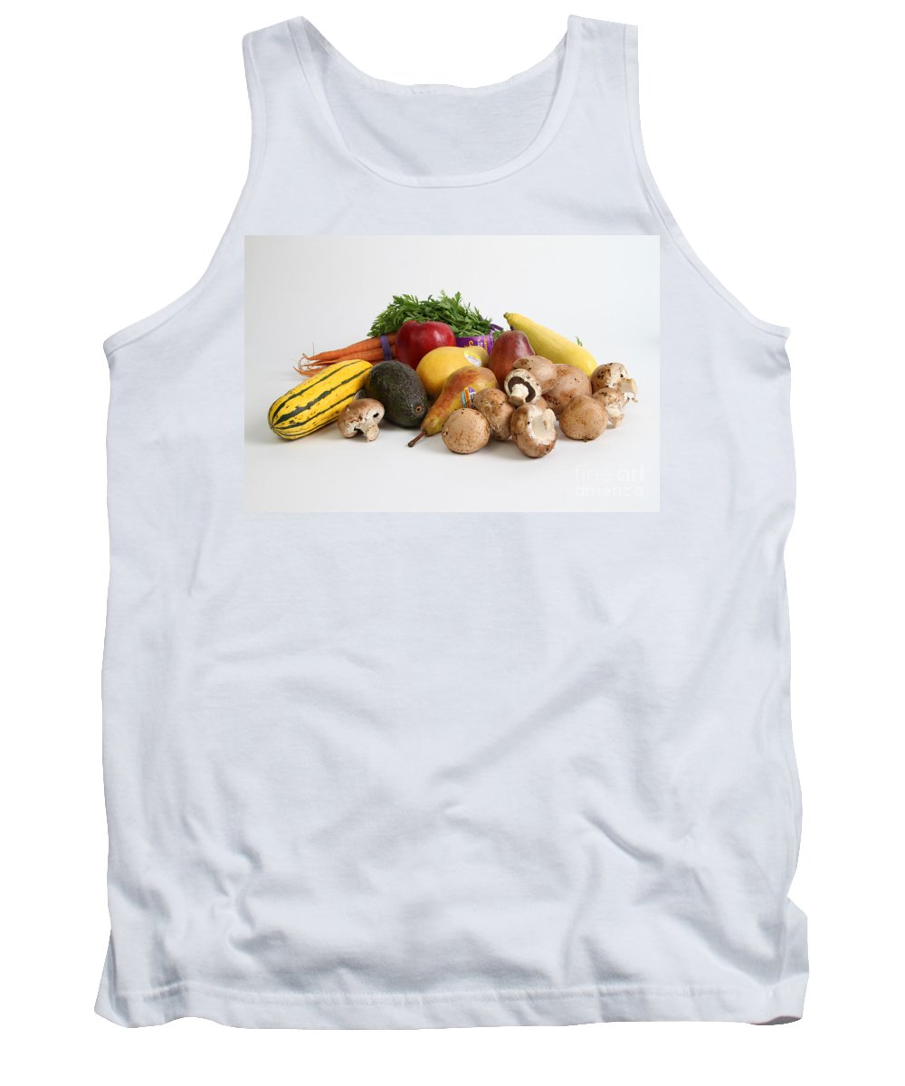 Still Life Tank Top featuring the photograph Organic Produce by Photo Researchers