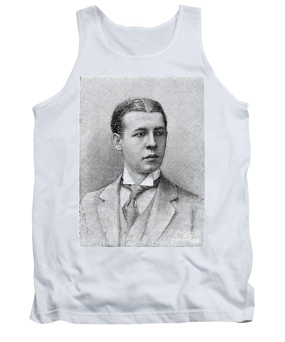 1891 Tank Top featuring the photograph O.s. Campbell, 1891 by Granger