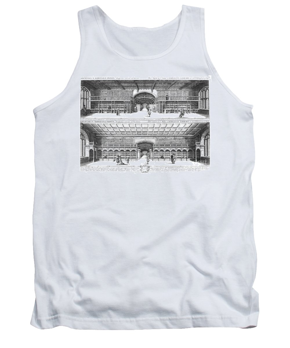 1675 Tank Top featuring the photograph Oxford: Bodleian Library by Granger