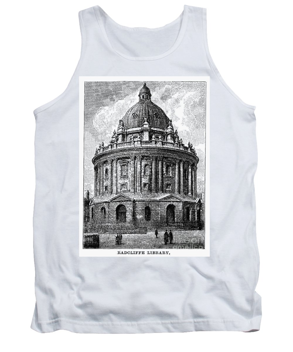 1885 Tank Top featuring the photograph Oxford: Radcliffe Library by Granger