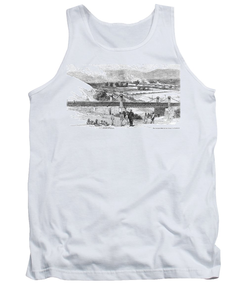1881 Tank Top featuring the photograph Peru: Chilean Army, 1881 by Granger
