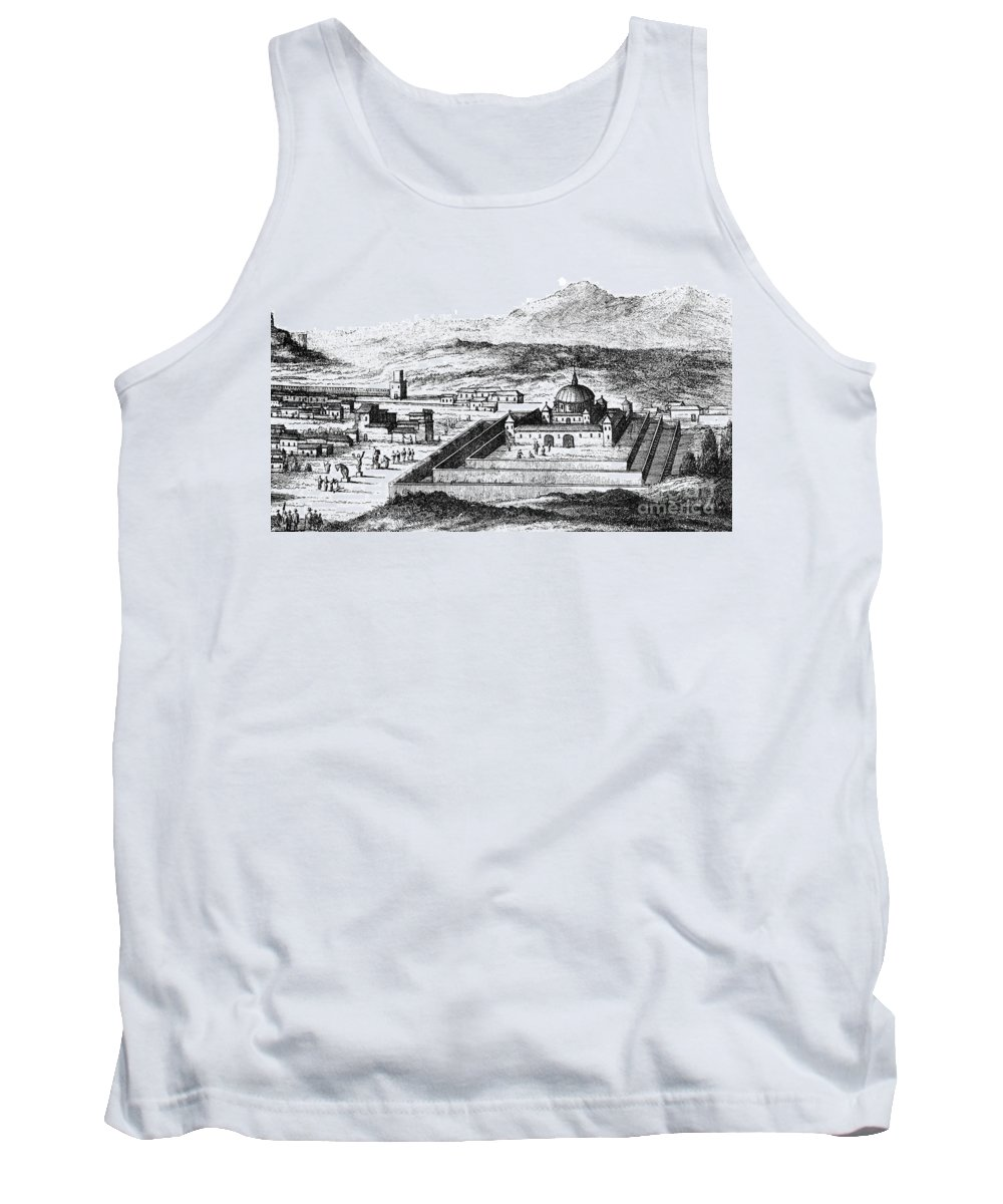 1671 Tank Top featuring the photograph Peru: Cuzco, 1671 by Granger